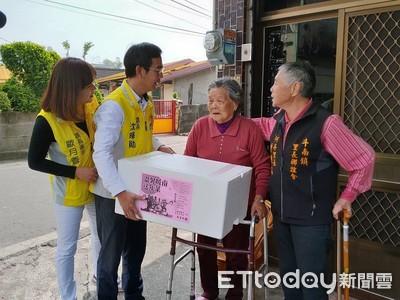 斗南鎮公所送353份年菜