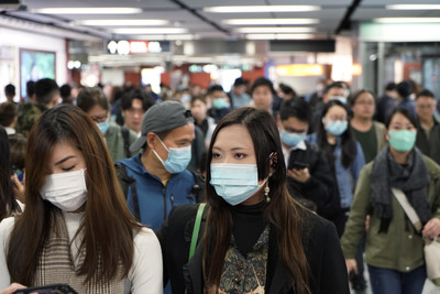 香港新增2例確診! 患者曾赴武漢
