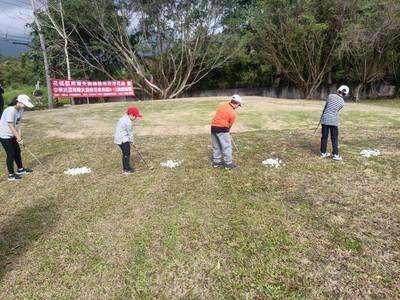 花蓮成立全國第1座高球訓練基地