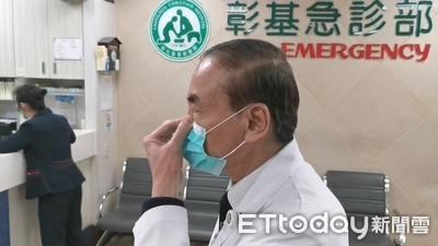 彰基醫院洗手6步驟 正確戴口罩防武漢肺炎