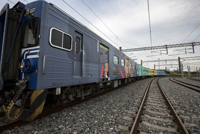 超可愛動物彩繪列車 西部幹線也坐得到
