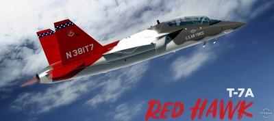 「V型雙垂尾」T-7A紅鷹教練機開始生產