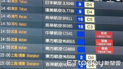 華航1/31~2/10 取消10赴陸航班