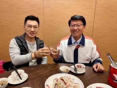 江啟臣新年希望:謝龍介到立院當同事