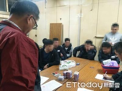 湖內警查獲撲克牌天九及六合彩賭博案 逮13人