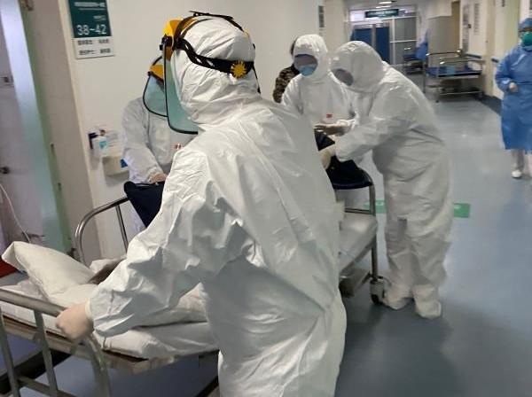 ▲▼武漢肺炎,新型冠狀病毒肺炎。(圖/武漢市第一醫院)