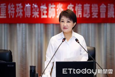 武漢肺炎案盧秀燕「積極預防」設二級防疫