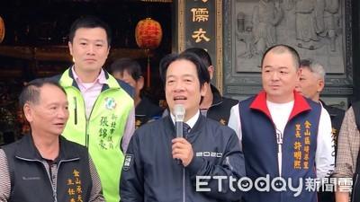 賴清德「幫中國等於幫台灣」 蘇貞昌:跟政府意思一樣