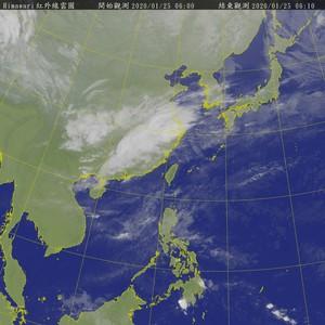 強烈大陸冷氣團明報到 台南以北溫驟降