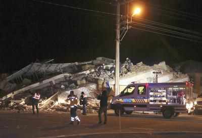 土耳其6.8強震18死
