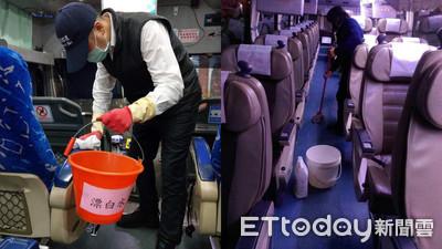 武漢肺炎釀41死!全台客運加強備戰