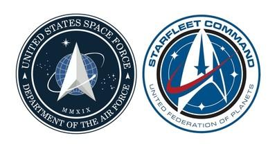 美國太空軍徽誌神似《Star Trek》