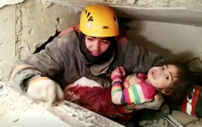 土耳其強震29死 2歲半女童獲救