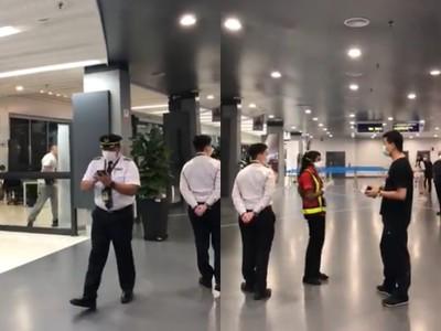 2歲童發燒!一家3口遭機場隔離…竟想爬玻璃窗再逃