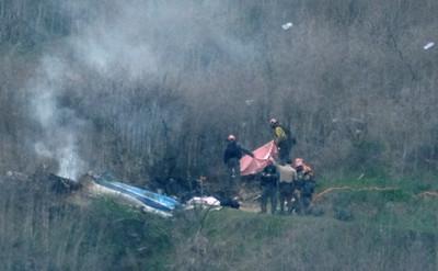 Kobe直升機「時速近300公里」墜毀