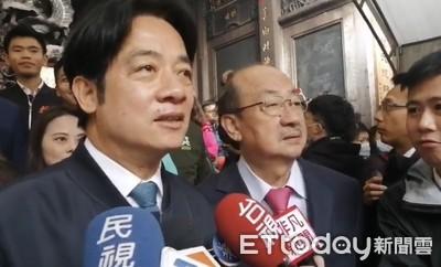 「武漢疫情衝擊經濟」 賴清德:蔡英文會帶領台灣走過