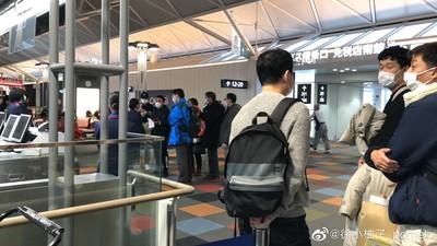 上海旅客日本機場「舉報武漢人」偷吃退燒藥