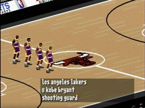 1996年Kobe遊戲史上初登場 最年輕獲發行同名遊戲球員