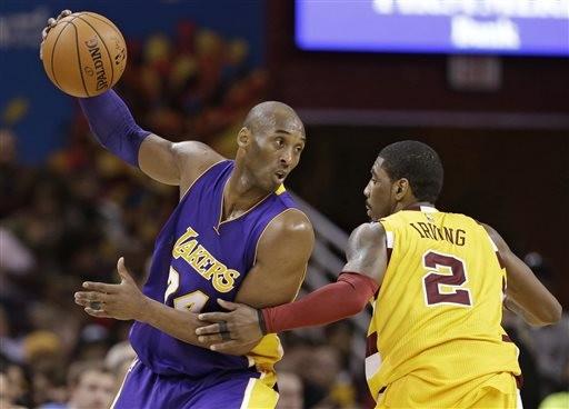 Kobe曾在籃網觀戰指點二女兒Gigi 厄文賽前得知噩耗突離去