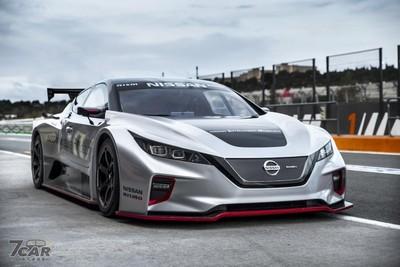 Nissan「Leaf Nismo RC」電動賽車歐洲首演!全碳纖維外型超殺