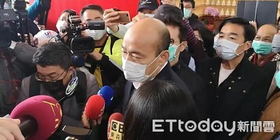 搭捷運防疫 韓國瑜:1%沒戴口罩