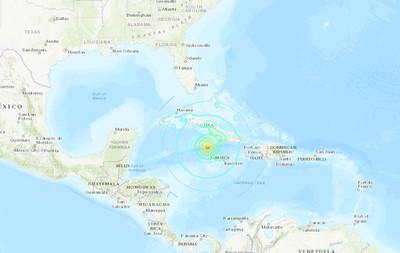 牙買加外海爆「規模7.7極淺層地震」