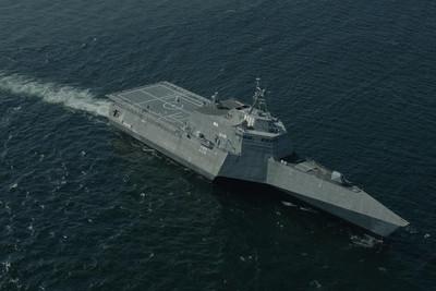 美艦以「航行自由」名義航行南海 解放軍:霸權行為