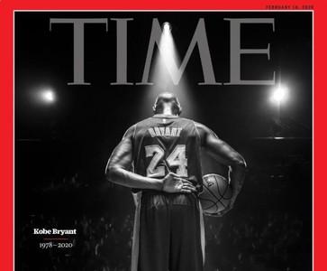 時代雜誌封面「Kobe謝幕黑白照」…惹哭網友