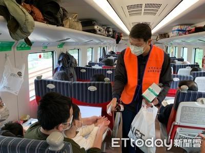 台東春節返工專車發750口罩及洗手液