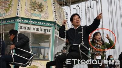 玩歐美遊樂園 準副總統賴清德「少女大噴發」玩瘋了