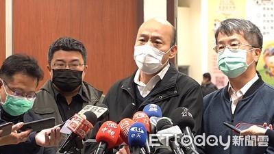 談「禁口罩出口」 韓國瑜:不聰明