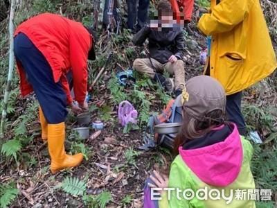 2山客登大禮步道迷途 部落族人協助尋獲