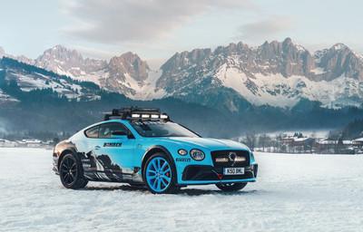 賓利雪地賽事版Continental GT