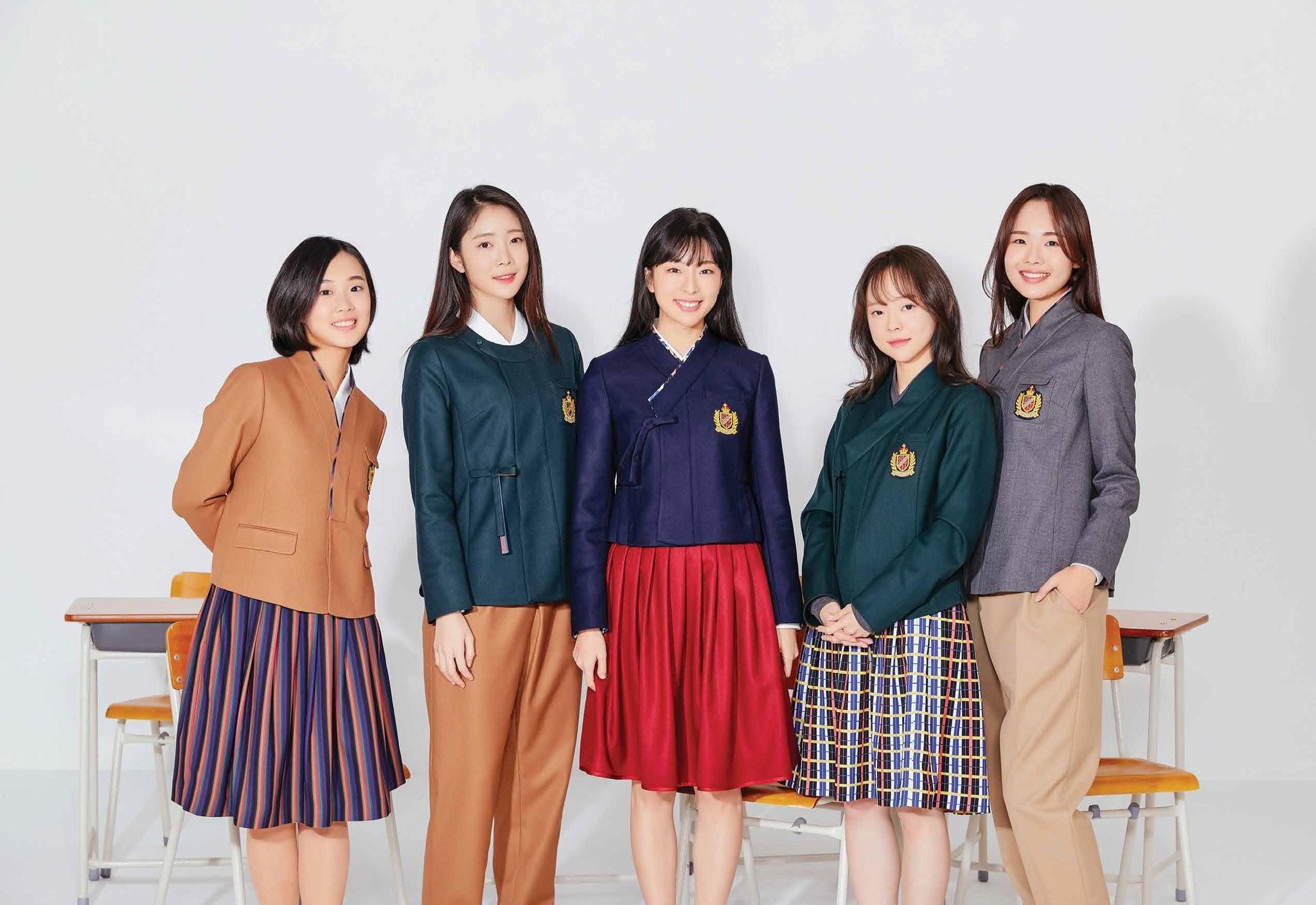 ▲▼韓國制服。(圖/翻攝自Twitter/@vicekorea)