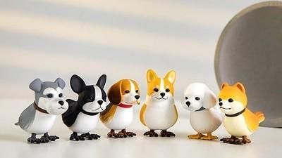 柴犬、柯基全長了鳥爪爪!韓國超夯「狗鳥」扭蛋 取名諧音暗藏髒話