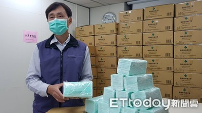 北市衛生局釋出20萬片口罩醫療、照護機構
