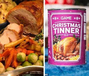 吃飯都懶?超怪聖誕罐頭滿足你的需求