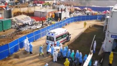 火神山醫院首批50名患者入住