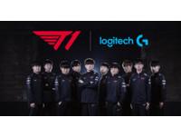 Logitech G成T1戰隊官方贊助商 全面支援選手培訓、比賽配備