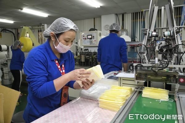 口罩追追追!經濟部:徵用14家醫用口罩「日產能30萬片!」