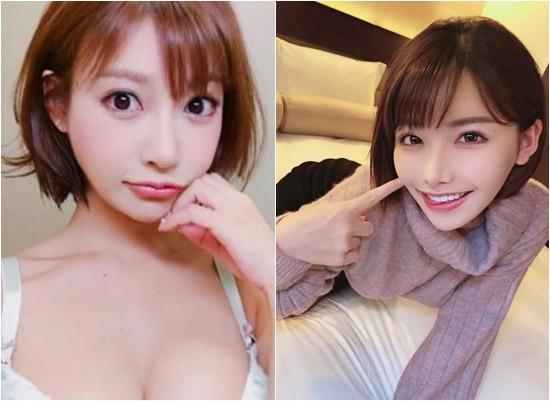 ▲深田詠美撞臉明日花綺羅。(圖/翻攝自推特)