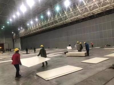 6千張病床一夜搞定  武漢「光速」再建8座方艙醫院