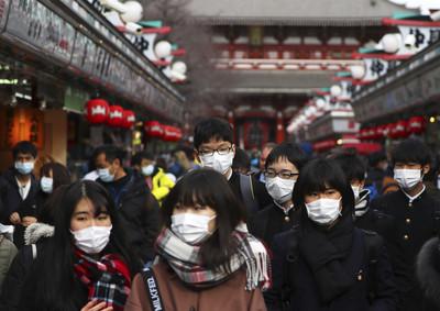 即/日本疫情出現首例死亡案例