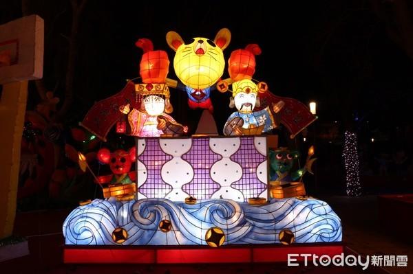 ▲▼台灣燈會燈王。(圖/觀光局提供)