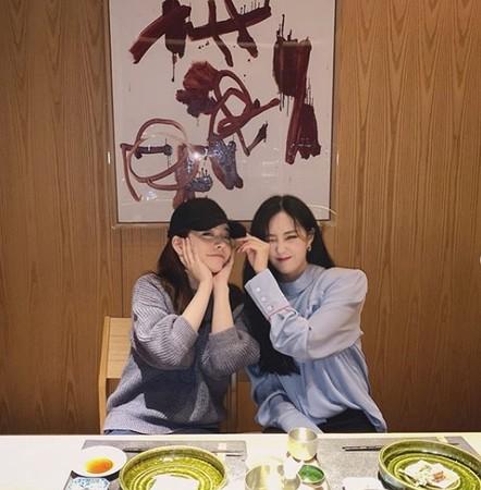▲Sunny與孝敏曬出聚會照。(圖/翻攝Sunny IG)