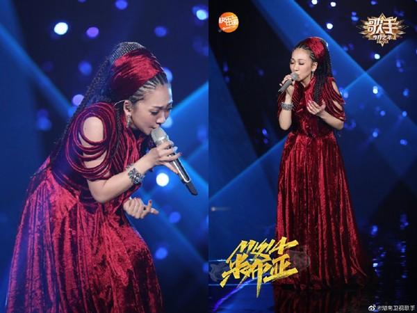 ▲▼米希亞《歌手2020》演唱日劇《仁醫》主題歌。(圖/翻攝自微博)