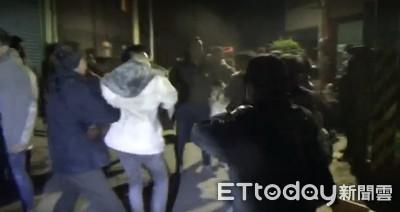 台南鹽水傳打群架警快打逮4人