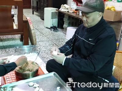 清水米苔目大王熱銷2000斤元宵