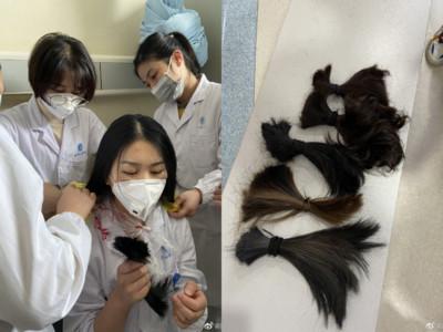 奔赴戰場 武漢31護士剪去長髮