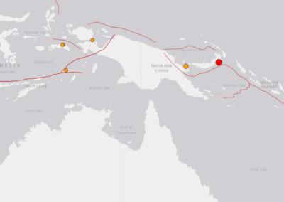 巴布亞紐幾內亞發生規模6.2地震